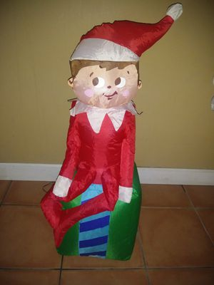 Elf on the shelf inflatable for Sale in Miami, FL