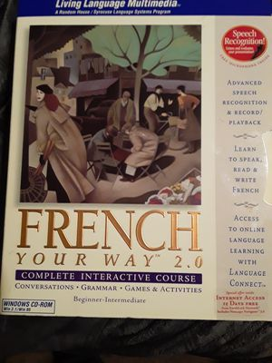 French complete interactive course 2.0 for Sale in Fort Worth, TX