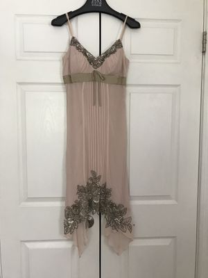 Sue Wong Designer Cocktail Dress - Blush Size 4 for Sale in Clifton, VA