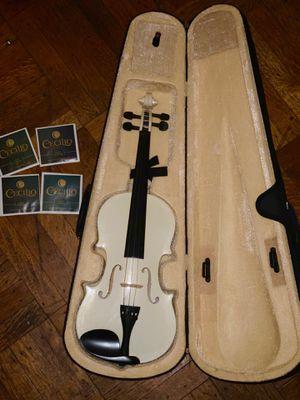 Cecilio white violin for Sale in Hartford, CT