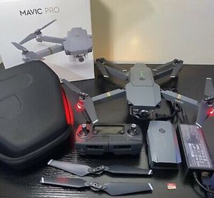 DJI Mavic Pro Quadcopter with Remote Controller | 2x Batteries | Props | Case for Sale in Baltimore, MD