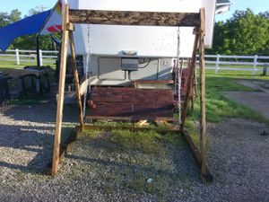 Ceder porch swing for Sale in Dickinson, TX