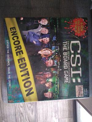 CSI board game for Sale in Glendale, AZ
