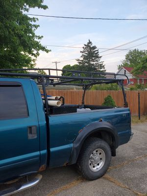 Ladder rack and tool box for Sale in Cleveland, OH