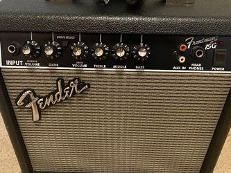 Fender Frontman 15G Practice Amplifier for Sale in Victorville,  CA