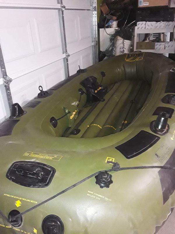 Sevylor 360, HF-360,Dish Hunter inflatable 6 man boat