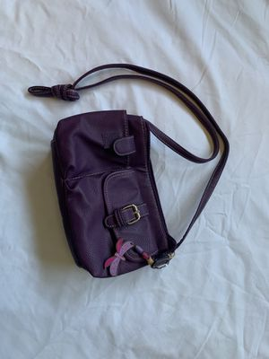 plum over the shoulder bag for Sale in Cleveland, OH