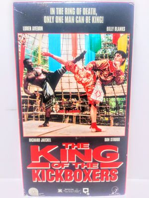 The King Of The Kickboxer VHS for Sale in Garland, TX
