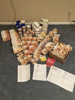 2 month supply of Nutrisystem $400.00 obo for Sale in Lenexa, KS