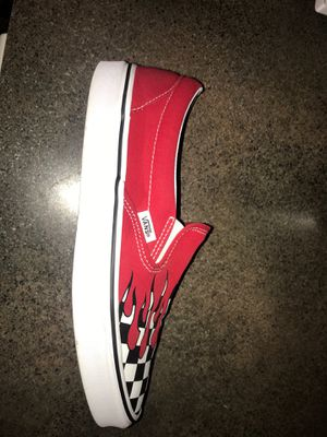 Vans slip on flame for Sale in Gahanna, OH