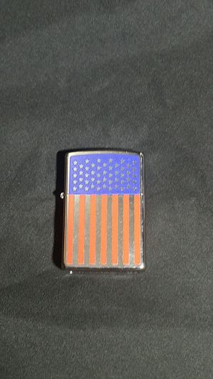 New Zippo Lighter American flag. made in USA for Sale in Deer Park, TX