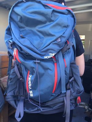 Women's Terra 55 North Face Hiking Backpack for Sale in Whittier, CA