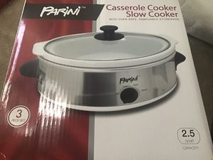 Parini Casserole Slow Cooker 3 pc set for Sale in Cypress, CA
