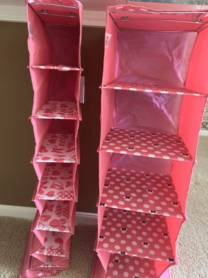 NEW Disney Theme Shelf Closet And Shoe Organizer Set for Sale in Tomball, TX