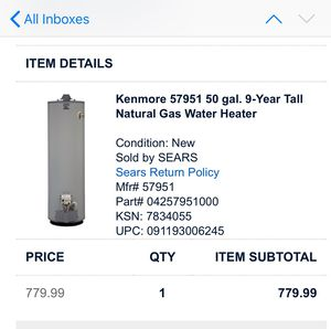 Water Heater for Sale in Friendswood, TX