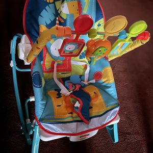 Infant Vibrating Activity Rocking Chair for Sale in Cleveland, OH