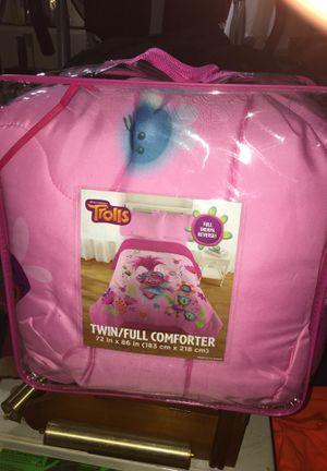 Trolls twin/full comforter for Sale in Enfield, CT