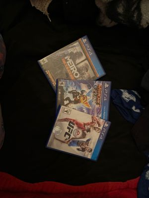 ps4 games👍🏼 for Sale in Hesperia, CA