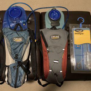 2 Camelbak Hydration Hiking/Biking Backpacks w/ Cleaning Kit for Sale in Franklin, TN
