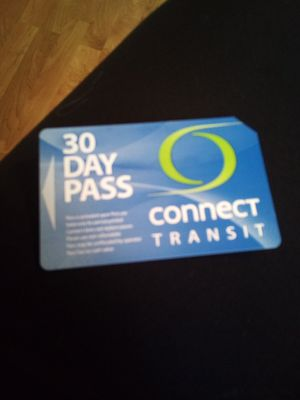 Connect Transit 30 Day for Sale in Normal, IL