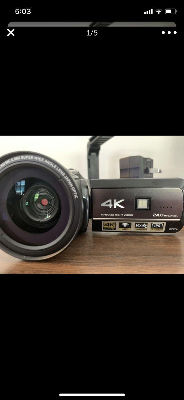 4K video camera