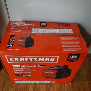 BRAND NEW, BRAND NEW Craftsman CMXGIAC3000 Gas Inverter Generator 2300 Running Watts. NUEVO for Sale in West Covina, CA