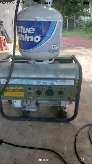 3250 watt propane generator rv plug ready for Sale in Belleair, FL