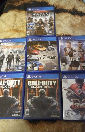 PS4 games for Sale in San Diego, CA