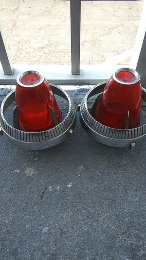 1960 Chrysler imperial tail light assembly original parts #1878287 both $300 firm for Sale in Wytheville, VA