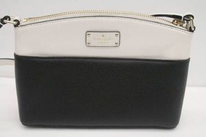 Kate Spade Purse Crossbody Shoulder Bag Pouch Black White Pebbled for Sale in Torrance, CA