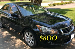 ✅✅$8OO URGENT I sell my family car 🔑🔑2OO9 Honda Accord EX-L Everything is working great! Runs great and fun to drive!!🟢🟢 for Sale in Gulfport, FL