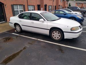 2000 Chevy impala clean title in hand for Sale in Nashville, TN