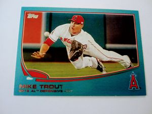 Mike Trout baseball card for Sale in Bellflower, CA