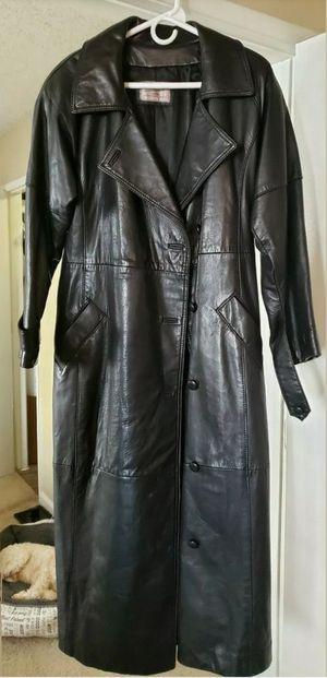 Lambskin Leather Trench Coat (Authentic) unisex for Sale in Phoenix, AZ