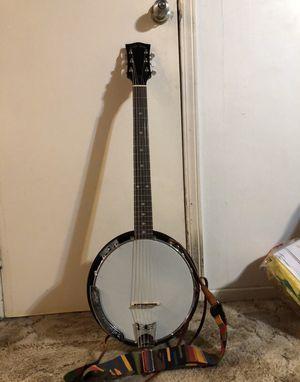 Banjo Guitar Gold Tone(Trade for utility trailer) for Sale in Colbert, WA