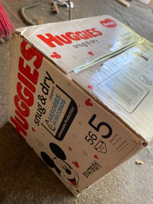 Huggies Diapers Size 5 for Sale in Oakland, CA
