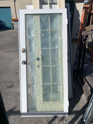 Front exterior aluminum door for Sale in Tamarac, FL