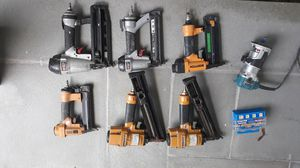 Great deal for finish guns and router for Sale in Stamford, CT