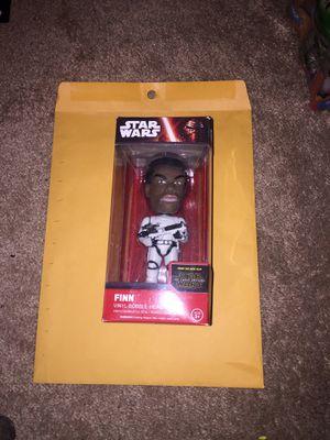 New Star Wats Bobble Head. (FINN Action Figure/Bobble Head in Stormtrooper uniform) for Sale in Fort Myers, FL