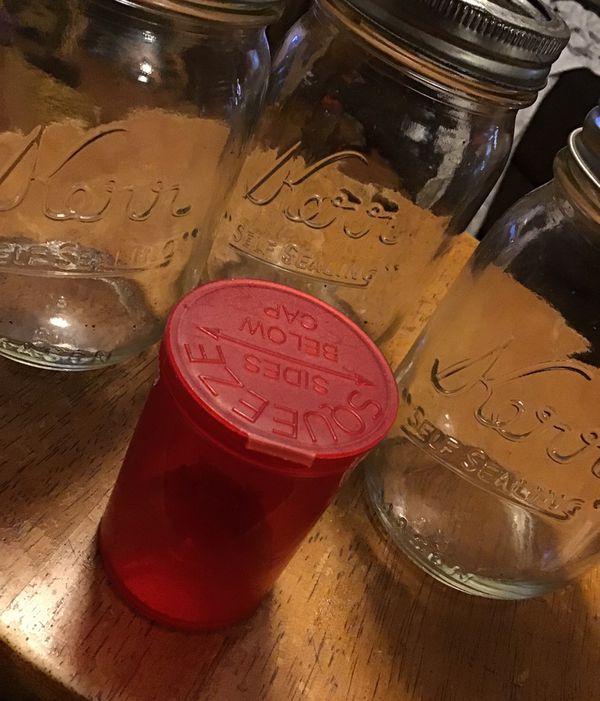 3 Mason Jars