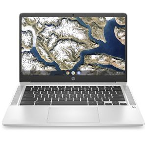 New HP Chromebook 14-inch HD Laptop, Intel Celeron N4000, 4 GB RAM, 32 GB eMMC, Chrome (14a-na0010nr, Mineral Silver) for Sale in Queens, NY