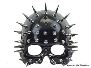 Spike Ghost Phantome Steampunk man Mask - Steampunk half face man style Mask Halloween for Sale in Rancho Cucamonga, CA