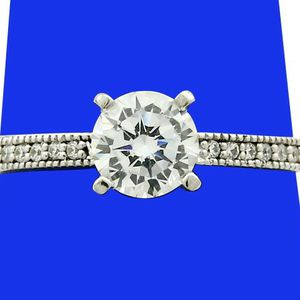 SU808 DIAMOND ENGAGEMENT RING 0.84CT LADIES WEDDING BAND 14k GOLD for Sale in Costa Mesa, CA