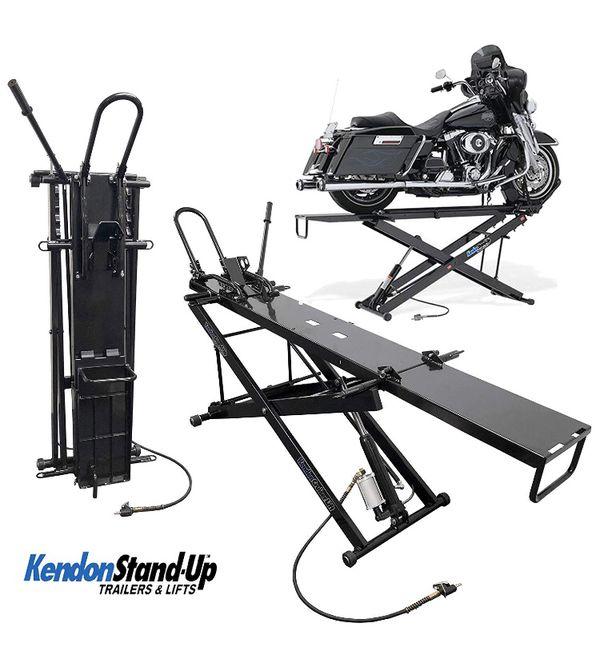 Kendon pneumatic motorcycle lift