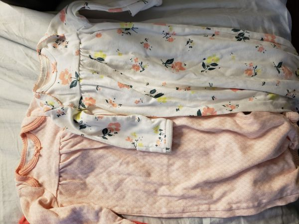 5 OS baby girl sack/sleeper.