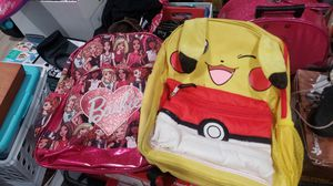 Barbie and Pikachu backpack for Sale in ROWLAND HGHTS, CA