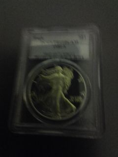 1986 PR-69 DCAM. PCGS CERTIFIED SILVER EAGLE for Sale in OH, US