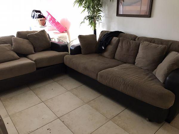 Micro fiber leather couch futon set