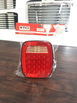 Stop Left Lamp 37 Led Red/White With 3 Universal Screws, License Light And Cables 12V for Sale in San Leandro, CA