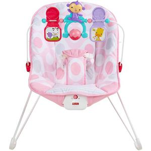 Brand new in box Fisher-Price Baby's Bouncer with Removable Toy Bar, Pink Ellipse for Sale in Kirkland, WA